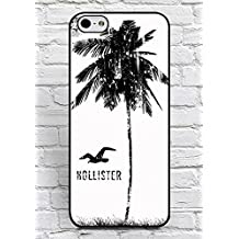 Iphone 6/6S Plus Funda Hollister Brand Logo Theme Print for Man, Unique Funda Iphone 6/6S Plus (5.5 Inch) Funda Cover Solid Floralmaycase