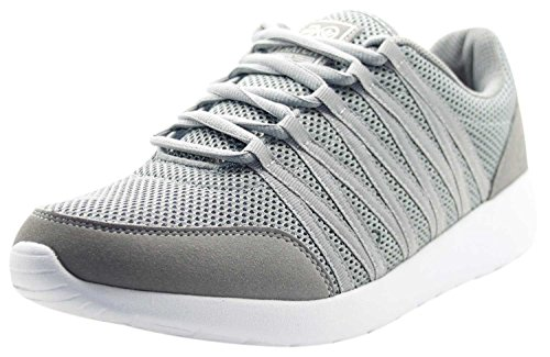 Crosshatch New Mens Designer Low Ankle Light Weight Sneakers Mesh Trainer Shoes December Sky