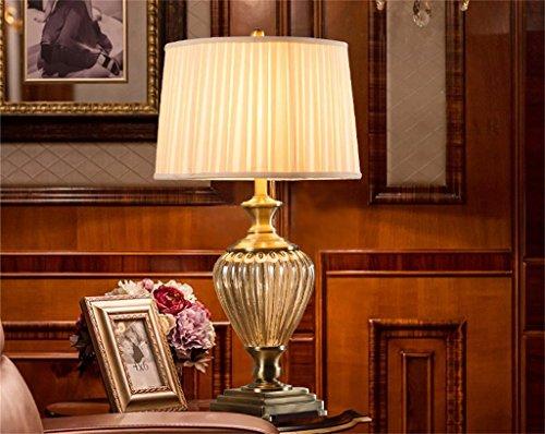 Shopping-Luxus Kristall vintage Kupfertischlampe Wohnzimmer Schlafzimmer Arbeitszimmer Lampen Champagne-Glas Kreative amerikanischen Tischlampe