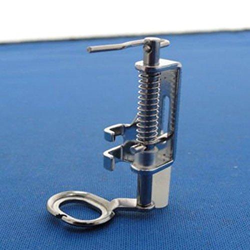 Tinksky Portable Free Motion Metall Quilten Fuß Nähfüße für inländische Nähmaschinen (Silber) (Portable Fuß Nähmaschine Fuß)