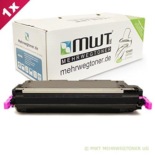 MWT Toner XL Magenta kompatibel remanufactured für HP CLJ CP4005 CP4005N CP4005DN - Color Laserjet CP 4005 N DN 4005N 4005DN - CB403A XXL - Clj Cp4005 Serie