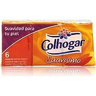 Colhogar - Suavisimo - Pañuelos de papel tisú - 6 paquetes