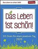 Das Leben ist schön! Wissenskalender. Tischkalender 2020. Tageskalendarium. Blockkalender. Format 11 x 14 cm - Ann Christin Artel