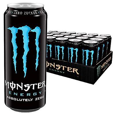 Monster Zero, 24x500ml, 24er Pack