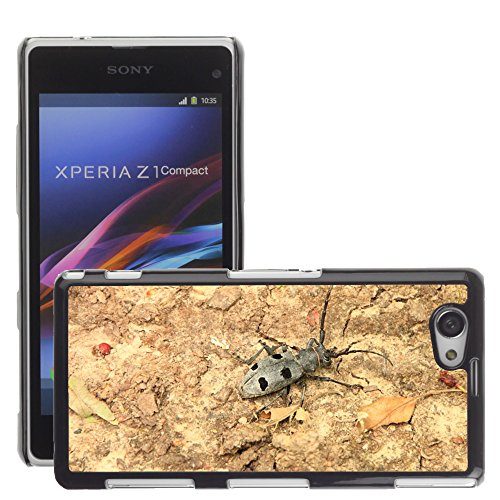 premio-sottile-slim-cassa-custodia-case-cover-shell-m00127232-beetle-bug-noir-cerambycidae-sony-xper