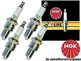 NGK V-LINE 14 BKR6E-11 6465 Zündkerzen, 4 Stück