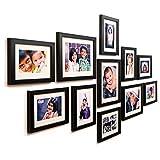 #9: Ajanta Royal Classic set of 11 Individual Photo Frames (8-6x8 & 3-8x10) : A-78