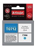 ActiveJet AEB-712N - Cartucho de tinta para Epson T712, cyan