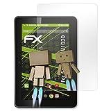atFolix Displayschutz für Gigaset QV1030 Spiegelfolie - FX-Mirror Folie mit Spiegeleffekt