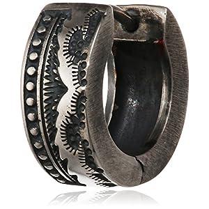 caï men Herren-Creolen Rockabilly 925 Silber