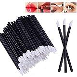 100pcs Einweg Lip Brush Lip Gloss Zauberstäbe Lippenstift Gloss Applikatoren Make-up-Pinsel