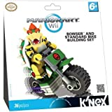 Tomy - K'Nex - 71696 - Maquette Figurine - Coffret - Standard - Kart Bike - Bowser