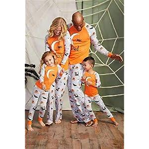 ZYJFP Pijamas Dos Piezas Familiares De Navidad, Conjuntos Navideños De Algodón Para Mujeres Hombres Niño Bebé, Ropa Para… 13