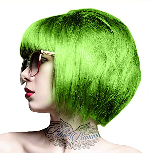 Crazy Color Auswaschbare Haarfarbe 100ml (Lime Twist - (Grün Haarfarbe)