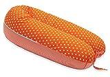 SCAMP Stillkissen universales Schwangerschaftskissen inkl. Bezug verschiedenes Design NEU (Mandarine Stripe)