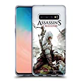Head Case Designs Ufficiale Assassin's Creed Connor Ascia III Arte Chiave Cover Morbida in Gel per Samsung Galaxy S10