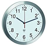 TFA-Dostmann Funk-Wanduhr mit leisem Sweep-Uhrwerk TFA 60.3533.02 Funkwanduhren 300 mm