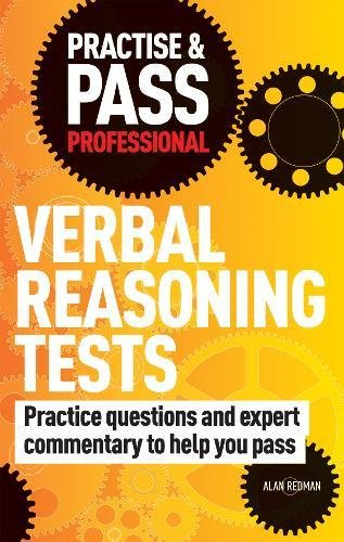Practise & Pass Professional: Verbal Reasoning Tests Cover Image