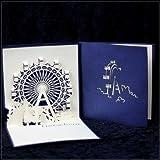 Grußkarte Liebe Wünsche Box Doppelkarte mit Kaltfolienveredelung mit Kuvert