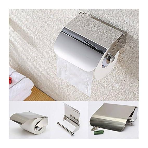 Ethnic Toilet Tissue Paper Roll Holder / Dispenser With Lid Combo Pack Of 2