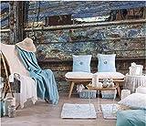 Carta da parati su ordinazione del murale della parete del ferro arrugginito retro parete moderna modellata della pittura, 150 * 105Cm