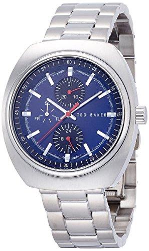 Ted Baker pour homme Te3063Sport Affichage analogique à quartz japonais Argent montre (Reconditionné Certifié)