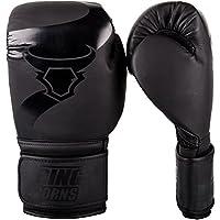 Ringhorns Charger Guantes de Boxeo, Unisex Adulto, Negro, 12oz