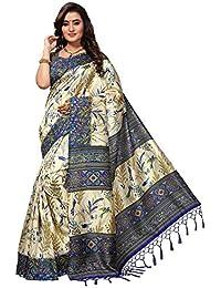 SAREE MALL Art SIlk Saree With Blouse Piece (sarees Below 500 Rupees_APHA1018_Beige_Free Size)