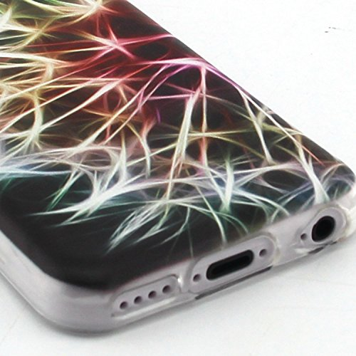 Voguecase® Pour Apple iPhone 6/6S 4.7, TPU Silicone Shell Housse Coque Étui Case Cover (Chat/ECG)+ Gratuit stylet l'écran aléatoire universelle pissenlit fluorescent