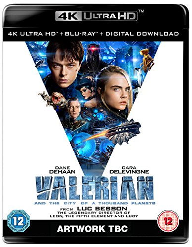 Valerian and the City of A Thousand Planets 4K UHD