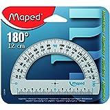 MAPED Rapporteur 180 degrés Aluminium 12 cm