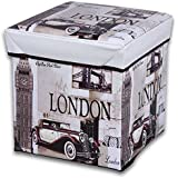 JOCCA Caja Puff London Caja Puff London BEIGE