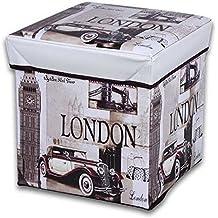 JOCCA Caja Puff London Caja Puff London BEIGE