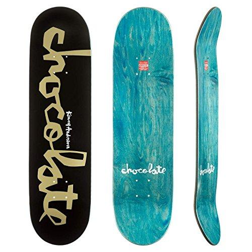 chocolate-tabla-de-skate-chunk-kenny-anderson-725-de-ancho-para-skateboard-color-negro-y-dorado