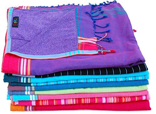 Kikoy telo mare in cotone - disponibili in vari colori
