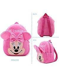 Plush School Bag For Kids - Minnie Mouse