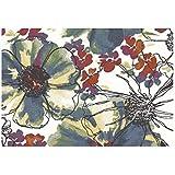 Alfombra Moderno Dibujo floral multicolor – Alfombra de diseño Sitap – Fácil Limpieza Capri 32041 – 6359