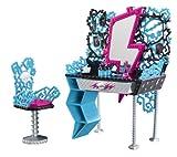 Mattel Monster High Y0404 -  Frankie Steins Frisierkommode, mit viel Zubehör