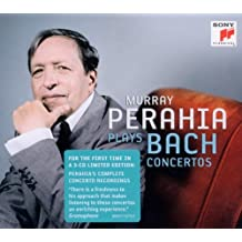 Perahia plays Bach Concertos (Limited Edition Digipack)