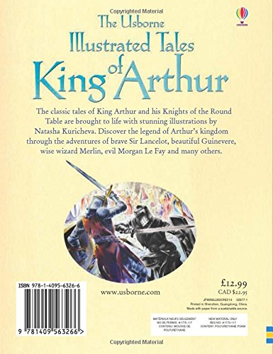 Illustrated tales of King Arthur (Illustrated Story Collections)
