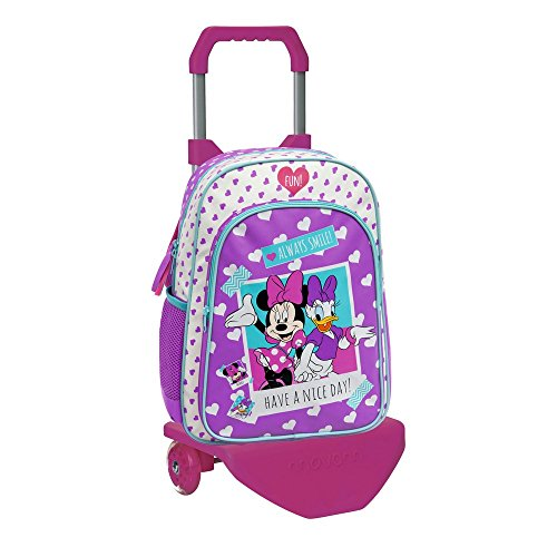 Imagen de disney 24923m1 minnie daisy nice day  escolar, 19.2 litros, color rosa