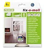 fix-o-moll E-Profildichtung 6 m 4 x 9 mm selbstklebend weiß, 3565235