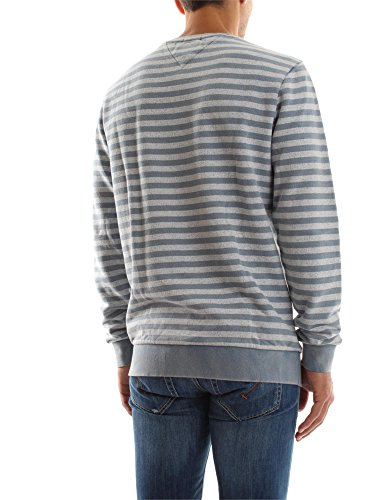 TOMMY HILFIGER DENIM 1957890195 STRIPE SWEATER Harren Blue