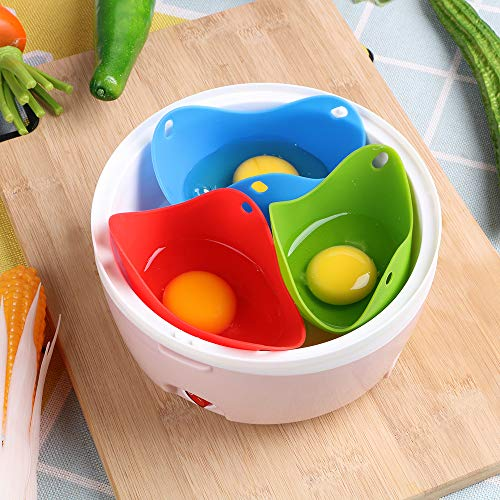 iTimo - 1 escalfador de huevos de silicona, para hornear huevos
