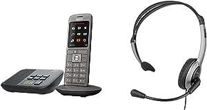 2 Gigaset Cl660a Schnurloses Telefon Mit Anrufbeantworter Und Großem Tft Farbdisplay