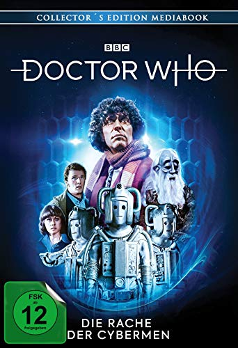 Vierter Doktor: Die Rache der Cybermen (Mediabook) (2 DVDs) + [Blu-ray]
