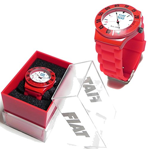 fiat-500-red-metal-watch-luci-benzina-olio