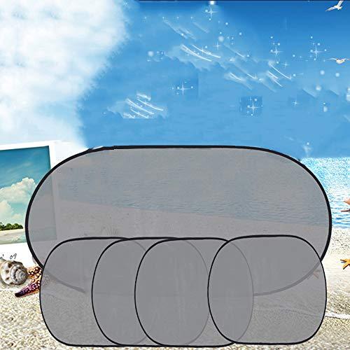 ür Auto Premium Baby Auto Isolierung Sonnenschirm Total Geschwindigkeit hinten Engrener Kostüm Fünf Teile ()