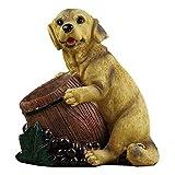 HYX Portabottiglia per Vino Figurine per Cani |Arredamento per la casa e la Cucina per Gli Amanti del Vino |Supporto da Tavolo per Country Country Barista |Accessori per Il ripiano del Vino da banco