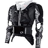 O'Neill O'Neal Motorrrad-Protektor, Motorrad-Protektorenhemd MadAss Moveo Protektorenjacke schwarz...